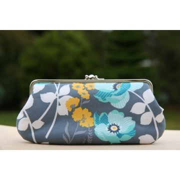 Chloe purse - Blue  poppy