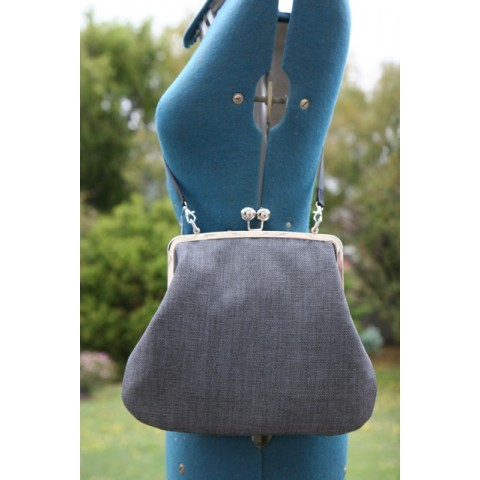 Hepburn bag - Charcoal grey