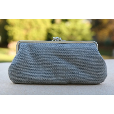 Chloe purse - Grey silver