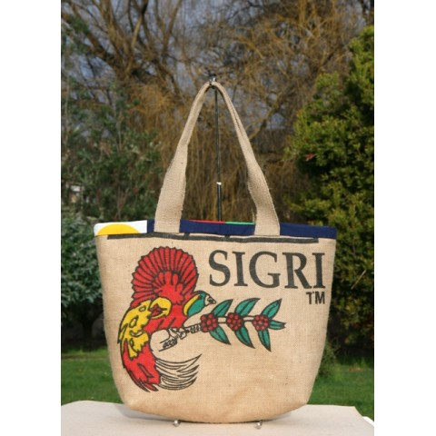 Limited edition - Coffee sack tote Sigri large