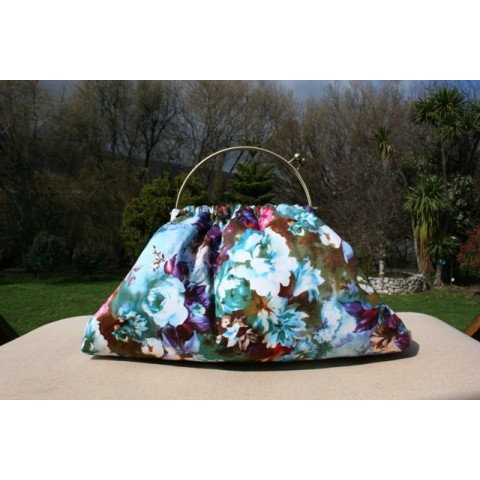 Budleigh bag - Striking floral