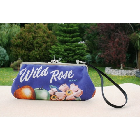 "Chloe convertible - 1930s Tasmanian apple print ""Wild Rose"" Apples brand"