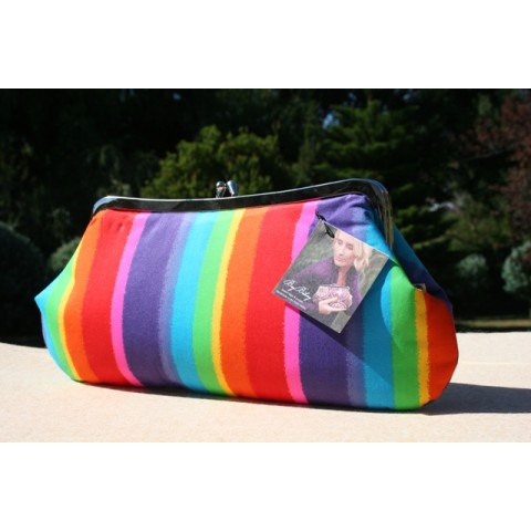 Isabella carry-all clutch - Colour stream