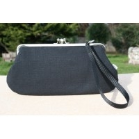 Chloe convertible - Black textured
