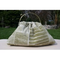 Budleigh bag - Dull pistachio upholstery