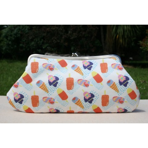 Isabella carry-all clutch - Bubble 'O Bill & Golden Gay Time