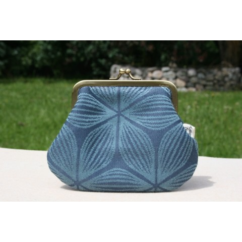 Grace purse - Blue floral
